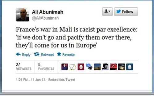Abunimah France Mali