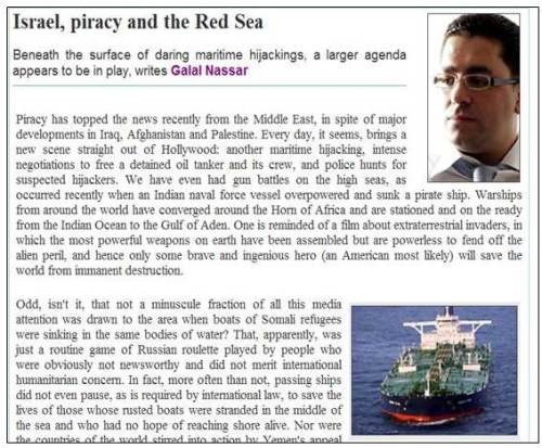 Israel piracy