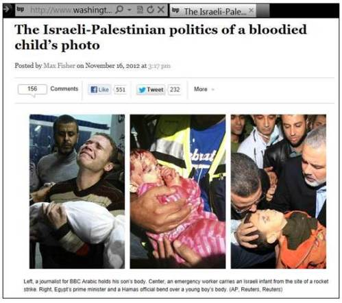 WaPo Gaza-Israel child victims
