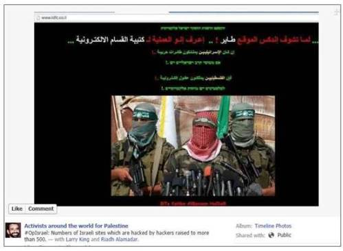 Third Intifada hacking op
