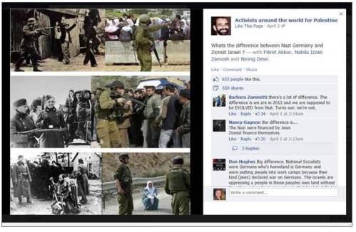 Third Intifada Nazis Israel