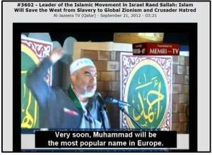 Salah speech MEMRI