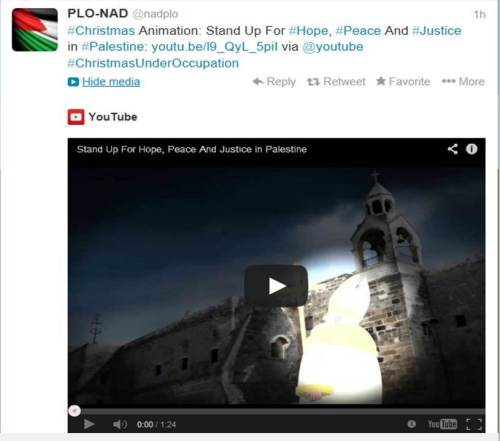 PLO Xmas propaganda
