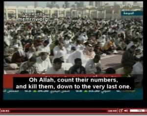 Qaradawi genocidal prayer