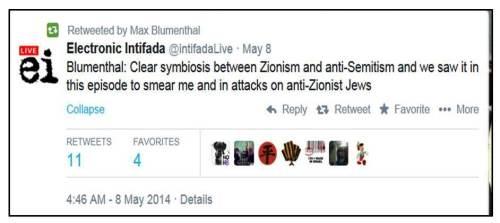 Blumenthal Zionism AS