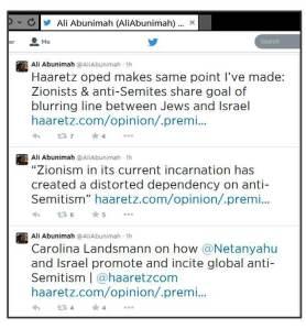 AA on Haaretz Landsmann