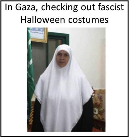 MB Halloween fascist hijab
