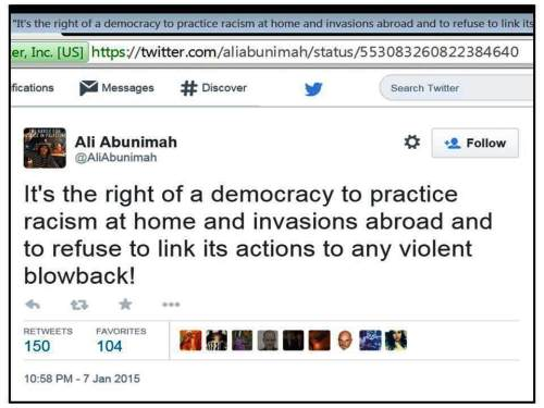 AA on CharlieHebdo