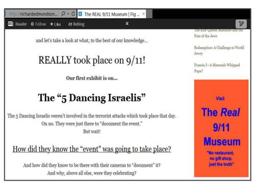 MB links to Holocaust denier 911 truther
