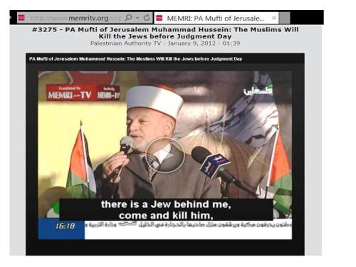 6 Jerusalem Mufti kill Jews