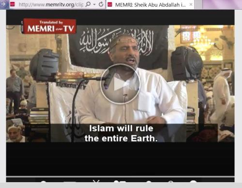 Islam will rule earth