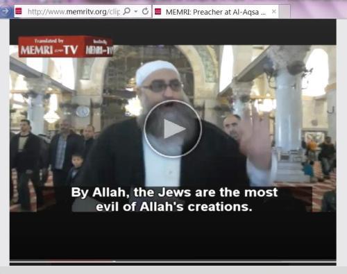 Jews are evil