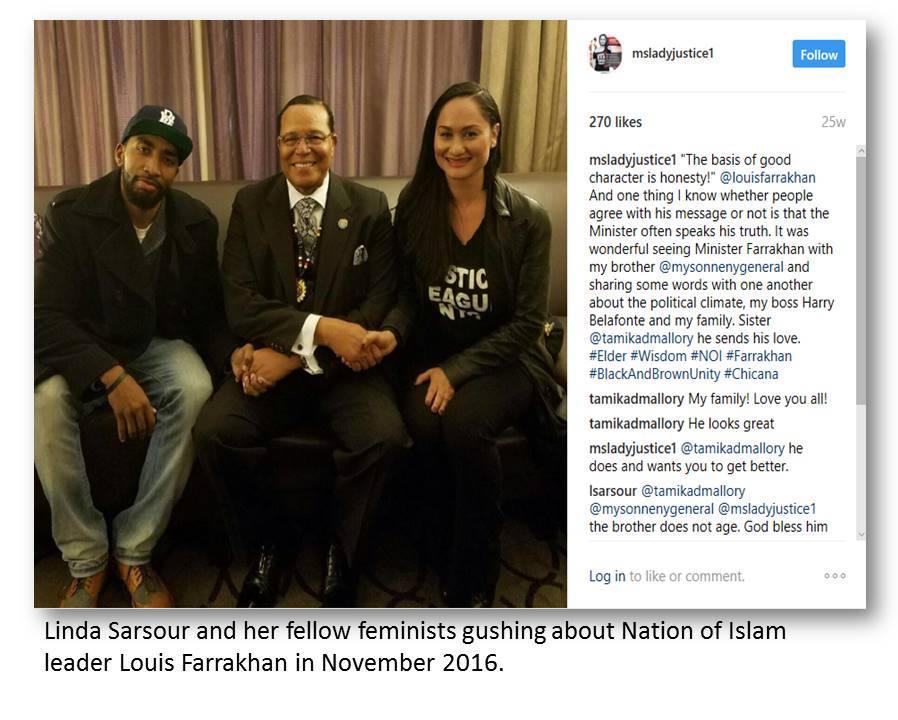 on Farrakhan Nov 2016