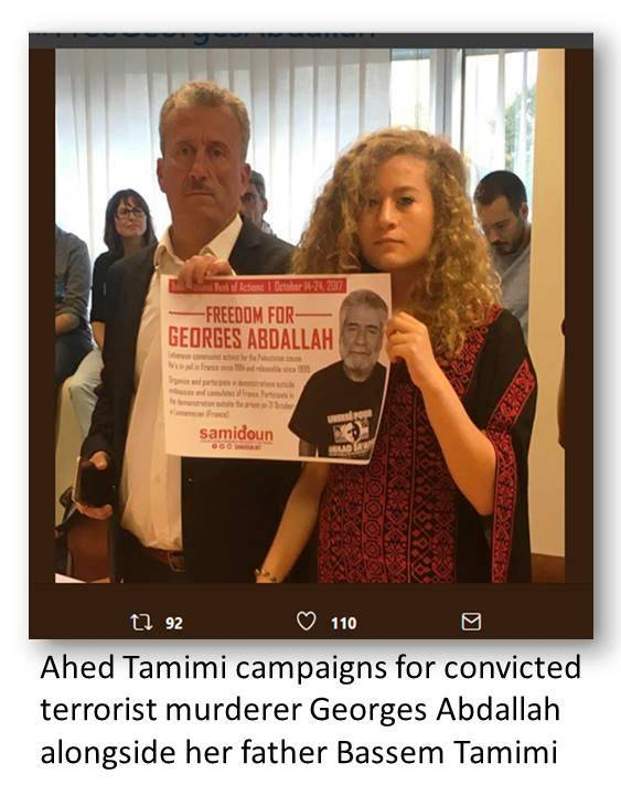 Ahed for terrorist G Abdallah