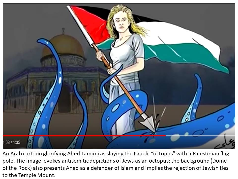 Ahed vs Israel octopus