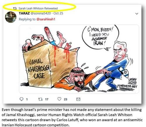 SLW RTs Latuff Netanyahu Khashoggi MbS